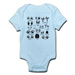 Animal Tracks Collection 1 Body Suit