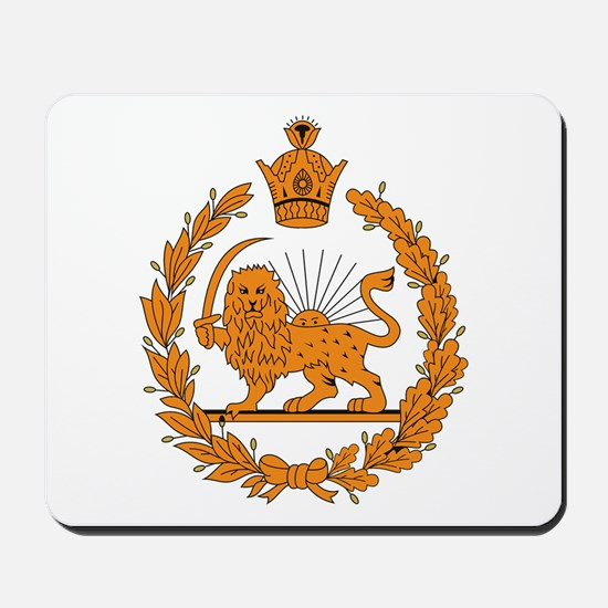 Persia Coat of Arms Mousepad