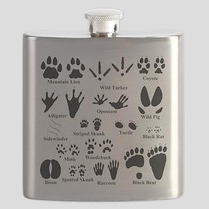 Animal Tracks Collection 2 Flask