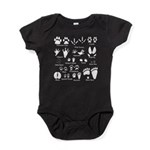 Animal Tracks Collection 2 Body Suit