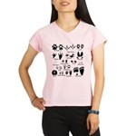 Animal Tracks Collection 2 Performance Dry T-Shirt