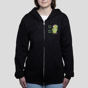 Harry-perch-front-blk Sweatshirt