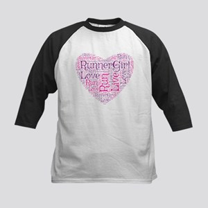 RunnerGirl Heart Baseball Jersey
