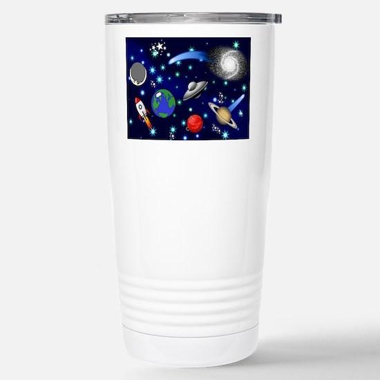 Kids Galaxy Universe Il Stainless Steel Travel Mug