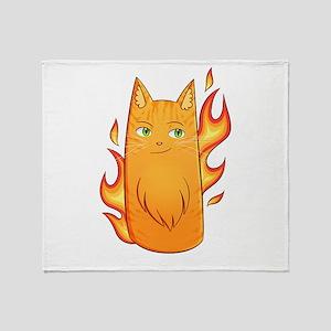 Firestar Throw Blanket