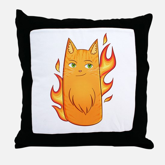 Firestar Throw Pillow