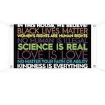 #inthishouse Black Banner
