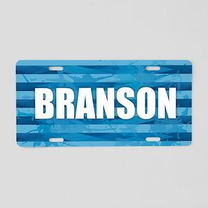 Branson Aluminum License Plate
