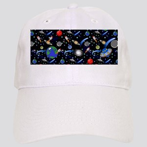 Kids Galaxy Universe Illustrations Cap