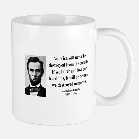 Abraham Lincoln 2 Mug