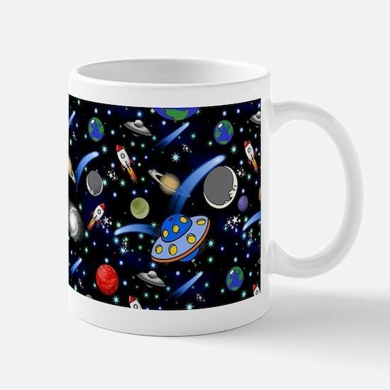 Kids Galaxy Universe Illustrations Mugs