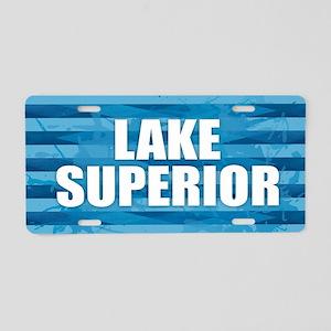 Lake Superior Aluminum License Plate