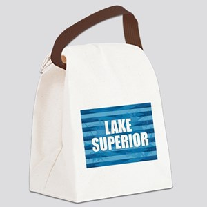 Lake Superior Canvas Lunch Bag