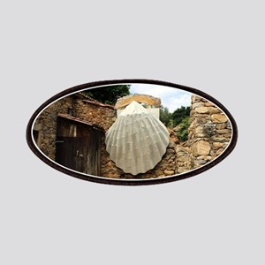 Giant scallop shell, El Camino Patch