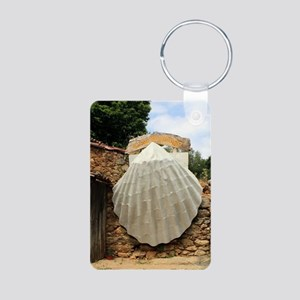 Giant scallop shell, El Camino Keychains