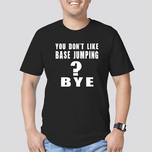 You Do Not Like base j Men's Fitted T-Shirt (dark)