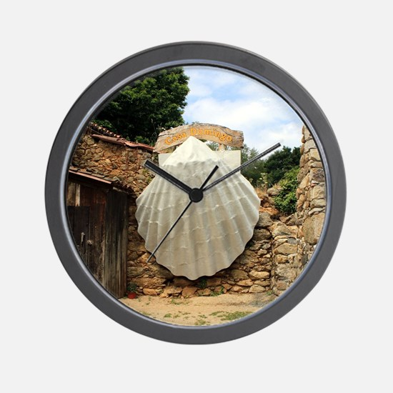 Giant scallop shell, El Camino Wall Clock