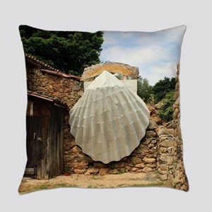 Giant scallop shell, El Camino Everyday Pillow