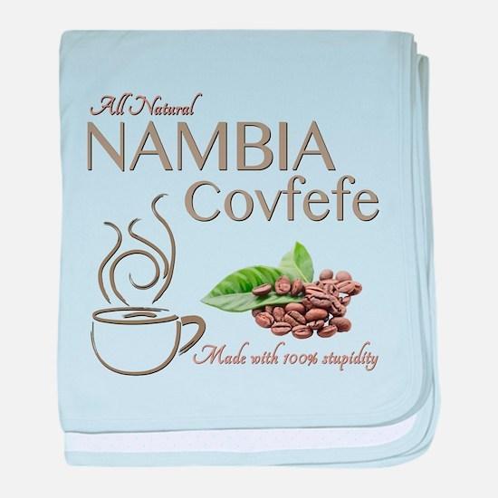 Nambia Covfefe baby blanket