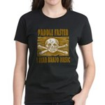 Paddle Faster 5 Women's Dark T-Shirt