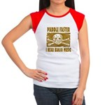 Paddle Faster 5 Women's Cap Sleeve T-Shirt