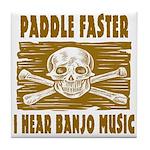 Paddle Faster 5 Tile Coaster