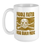 Paddle Faster 5 Large Mug