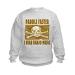 Paddle Faster 5 Kids Sweatshirt