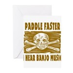 Paddle Faster 5 Greeting Cards (Pk of 10)