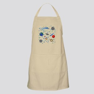 Kids Galaxy Universe Illustrations Apron