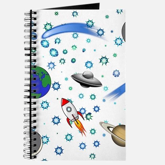 Kids Galaxy Universe Illustrations Journal