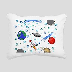 Kids Galaxy Universe Ill Rectangular Canvas Pillow