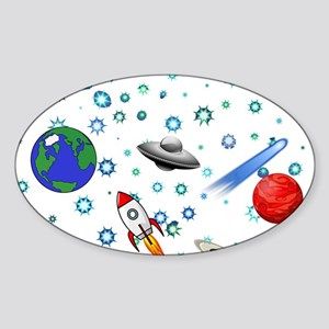 Kids Galaxy Universe Illustrations Sticker