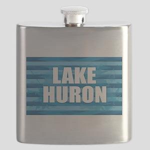 Lake Huron Flask