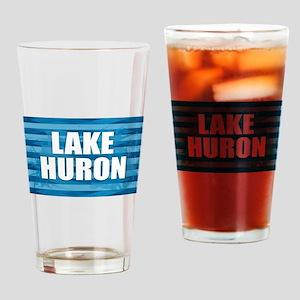 Lake Huron Drinking Glass