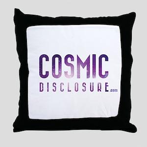 CosmicDisclosure.com Throw Pillow