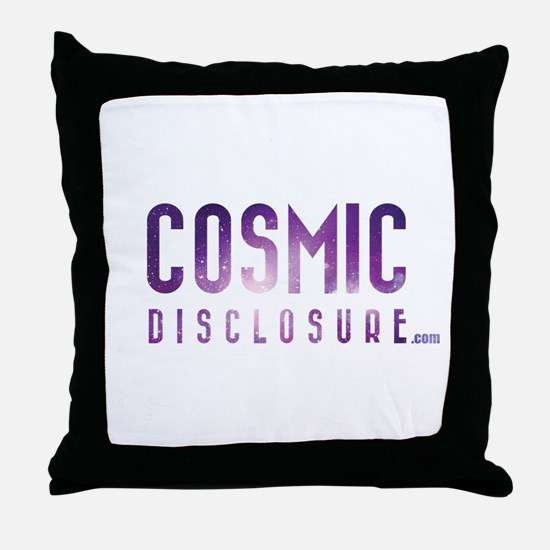 CosmicDisclosure.com Throw Pillow