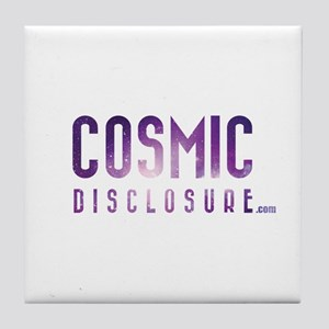 CosmicDisclosure.com Tile Coaster