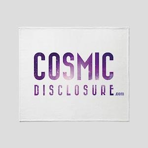 CosmicDisclosure.com Throw Blanket
