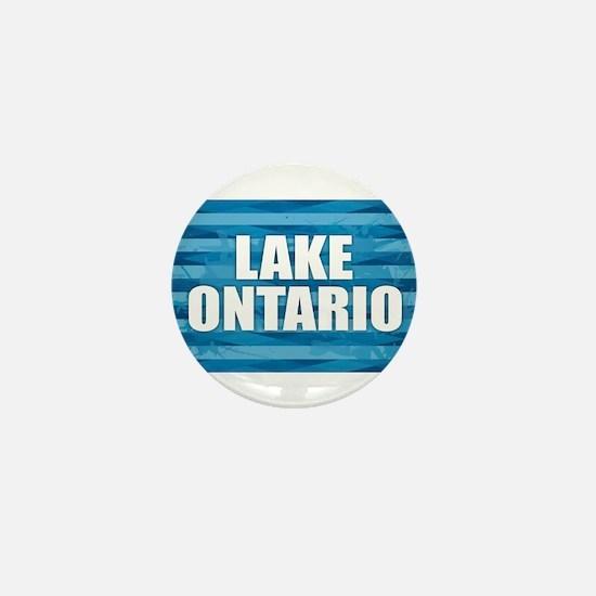 Lake Ontario Mini Button