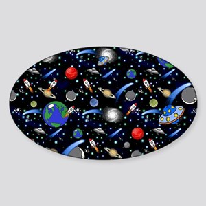 Kids Galaxy Universe Illustration Sticker