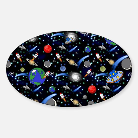 Kids Galaxy Universe Illustration Decal