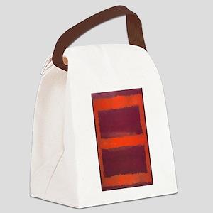 ROTHKO ORANGE MAROON 22 Canvas Lunch Bag