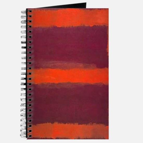 ROTHKO ORANGE MAROON 22 Journal