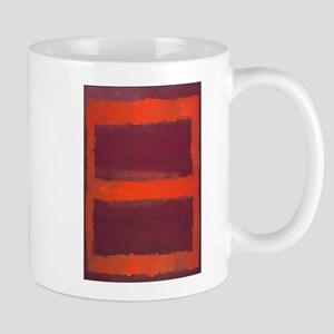ROTHKO ORANGE MAROON 22 Mugs