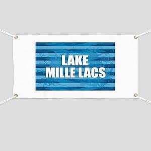 Lake Mille Lacs Banner