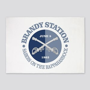 Brandy Station (BG) 5'x7'Area Rug