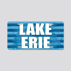 Lake Erie Aluminum License Plate