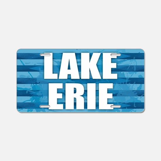 Lake Erie Aluminum License Plate