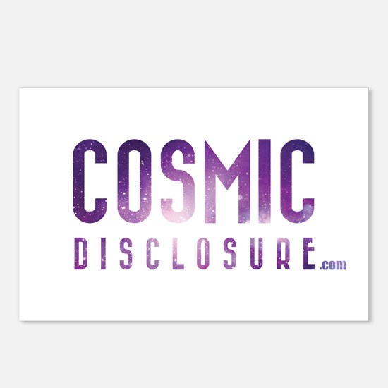 CosmicDisclosure.com Postcards (Package of 8)